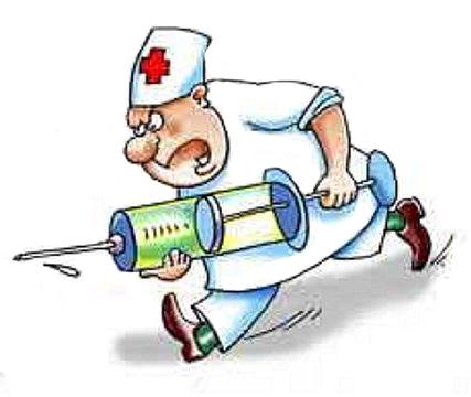 Картинка доктора с уколом смешная, сердце